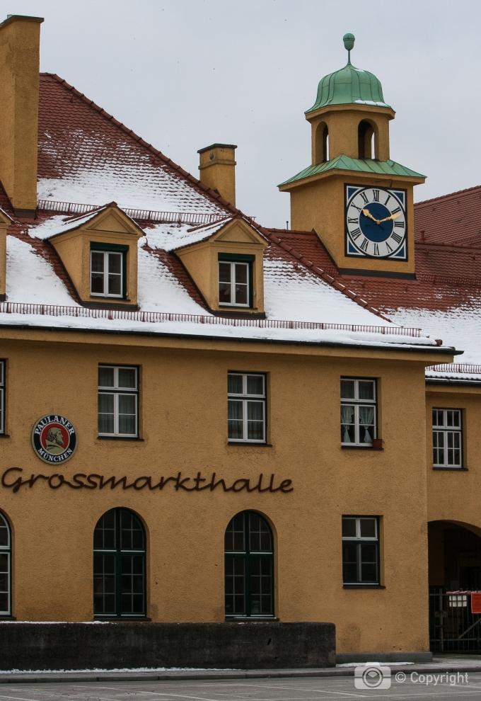 Gaststätte Grossmarkthalle, Sendling